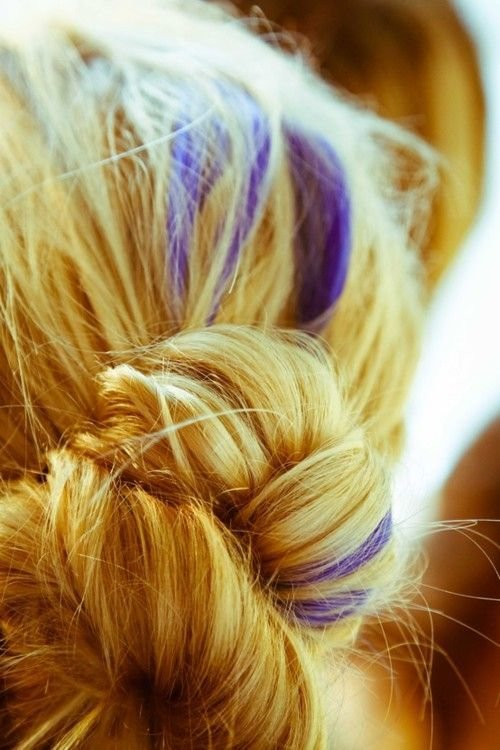 The Best Best 20 Colored Hair Streaks Ideas On Pinterest Pictures