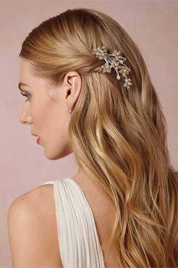 The Best Best 25 Straight Wedding Hairstyles Ideas On Pinterest Homecoming Hair Down Straight Wedding Pictures