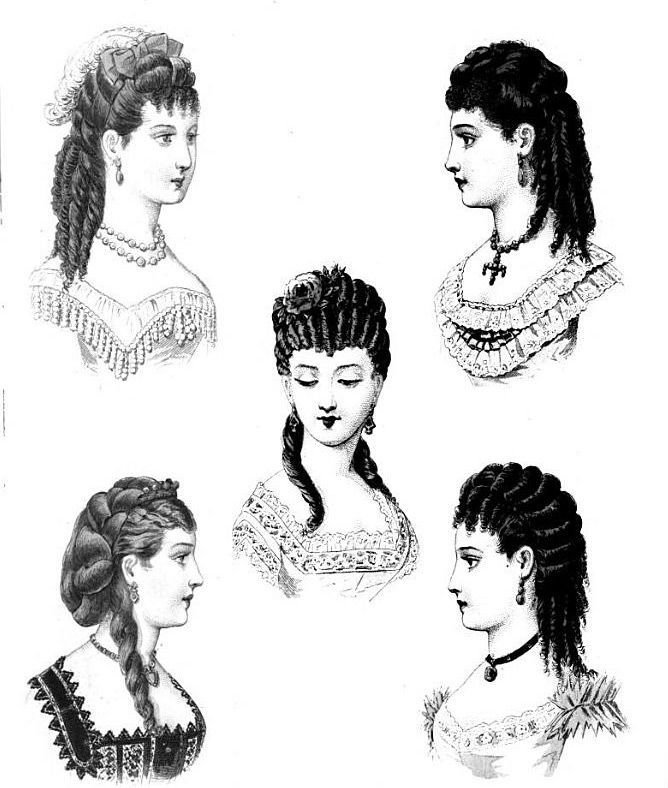 The Best 84 Best 19Th Century Hair Images On Pinterest Historical Pictures
