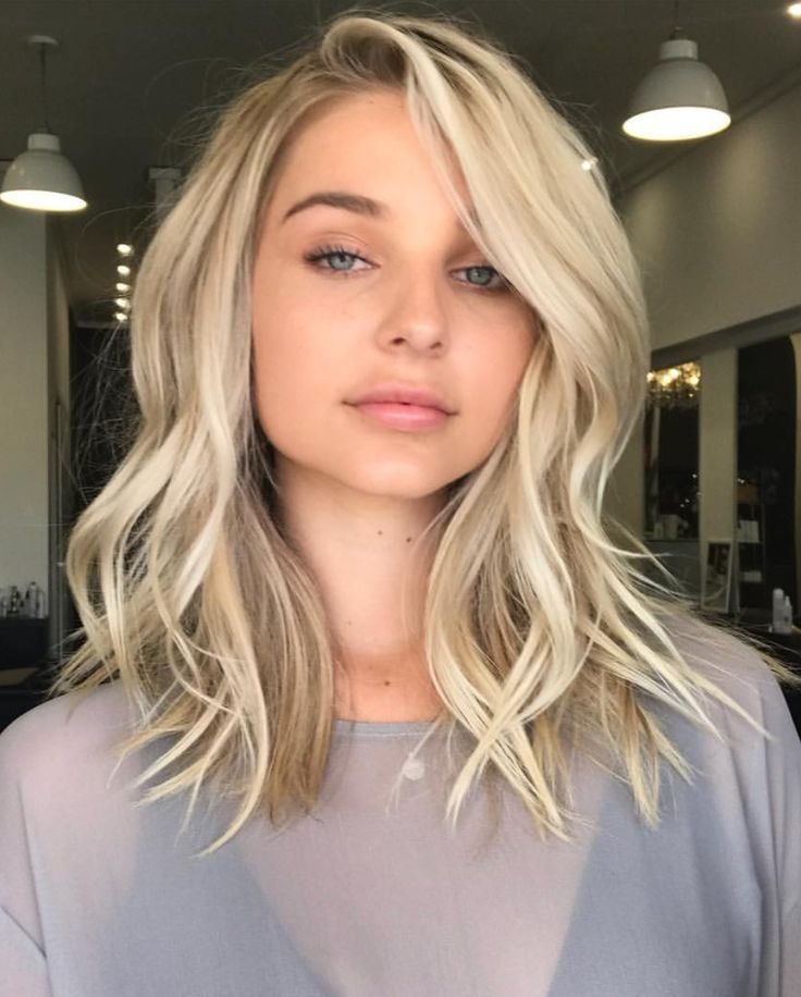 The Best Best 25 Medium Length Blonde Ideas On Pinterest Pictures