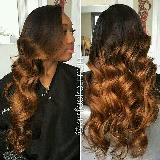 The Best Ombré Sew In Hairstyles In 2019 Hair Wig Hairstyles Pictures