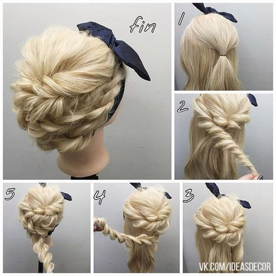 The Best 60 Easy Step By Step Hair Tutorials For Long Medium Short Pictures