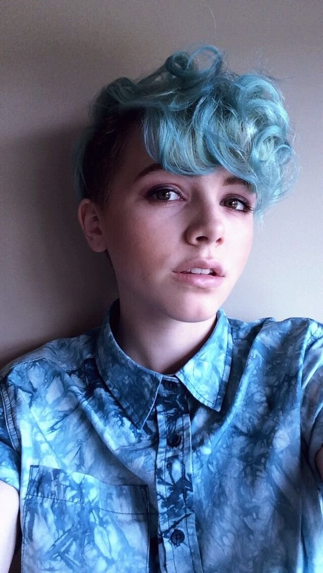 The Best Love The Color Androgyny Hair Inspo Androgynous Hair Pictures