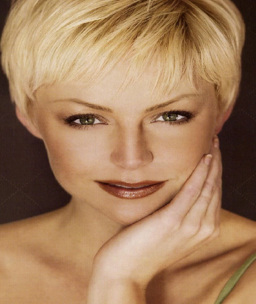 The Best Short Fine Hair Older Women Hair Style For Fine Hair A Pictures