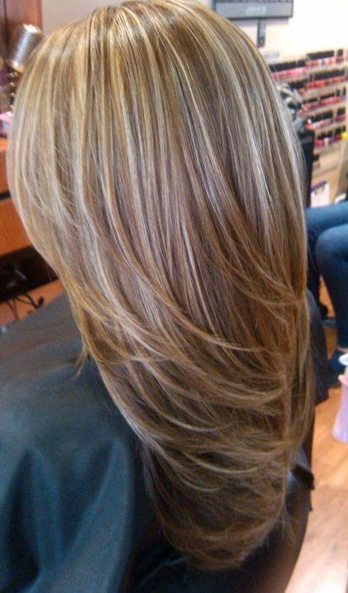 The Best Light Blonde Highlights On Medium Brown Hair Hair And Pictures