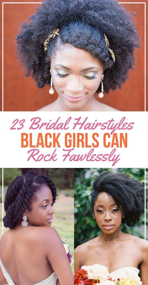 The Best 23 Bridal Hairstyles That Look Great On Black Women Pictures