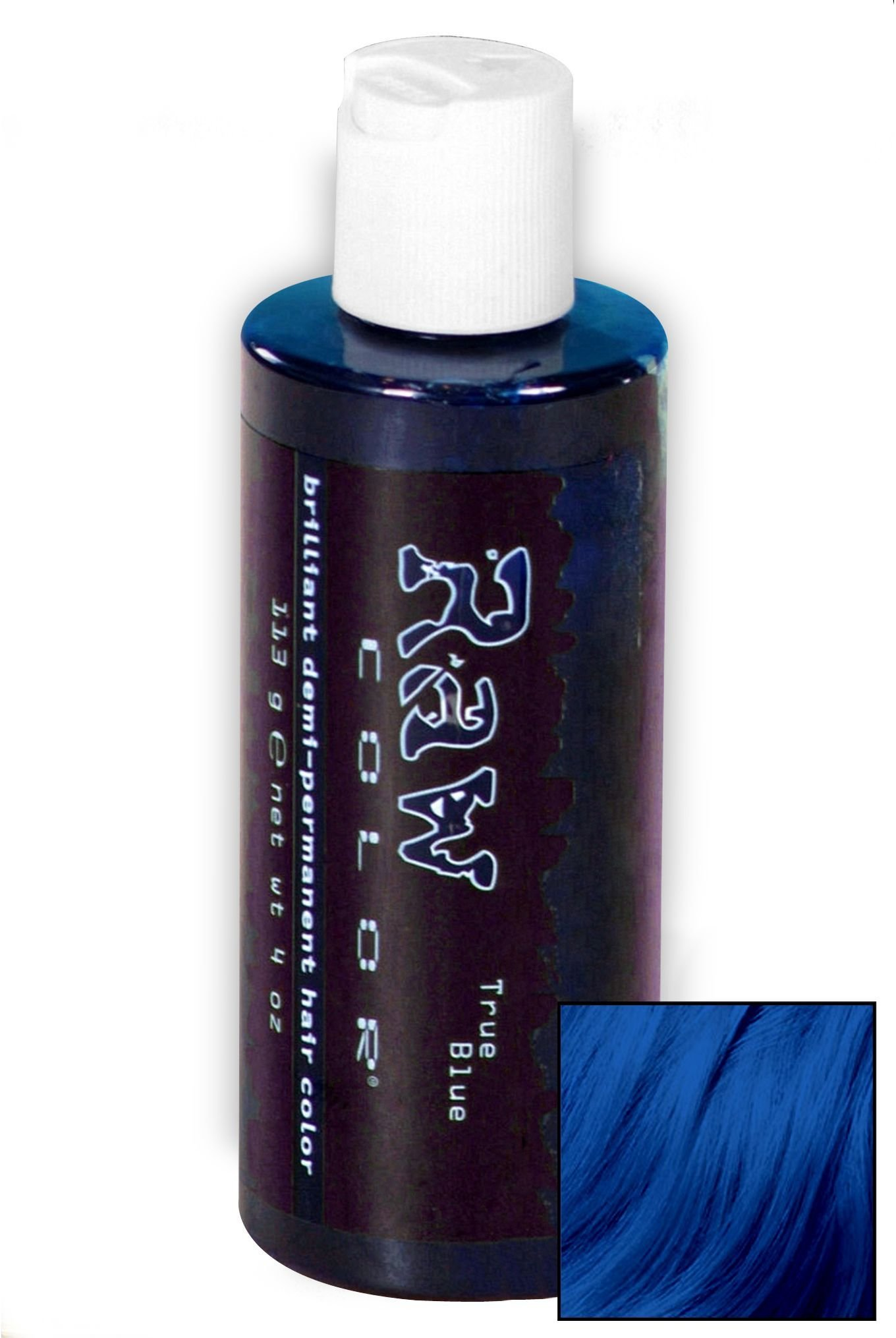 The Best Raw True Blue Hair Dye Wishlist Raw Hair Dye Dyed Pictures