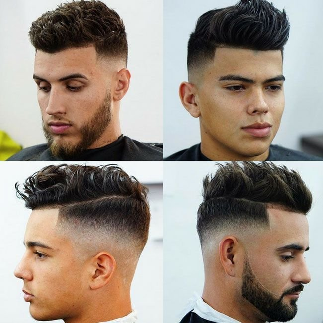 The Best Haircut Names For Men Types Of Haircuts 2019 Fade Pictures