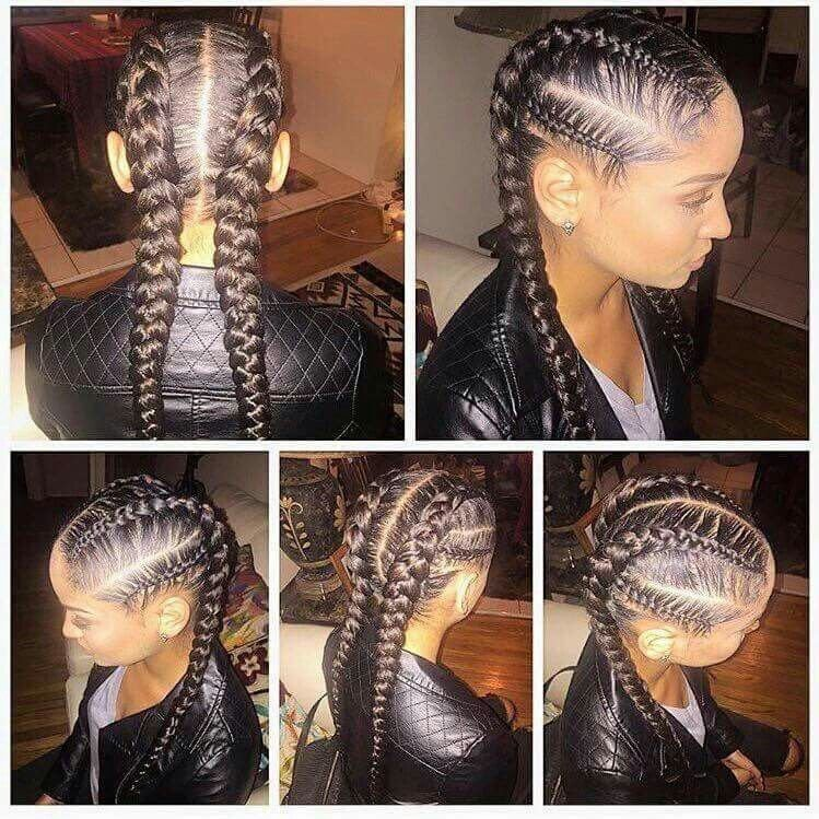 The Best French Braids … Hairstyles Natur… Pictures