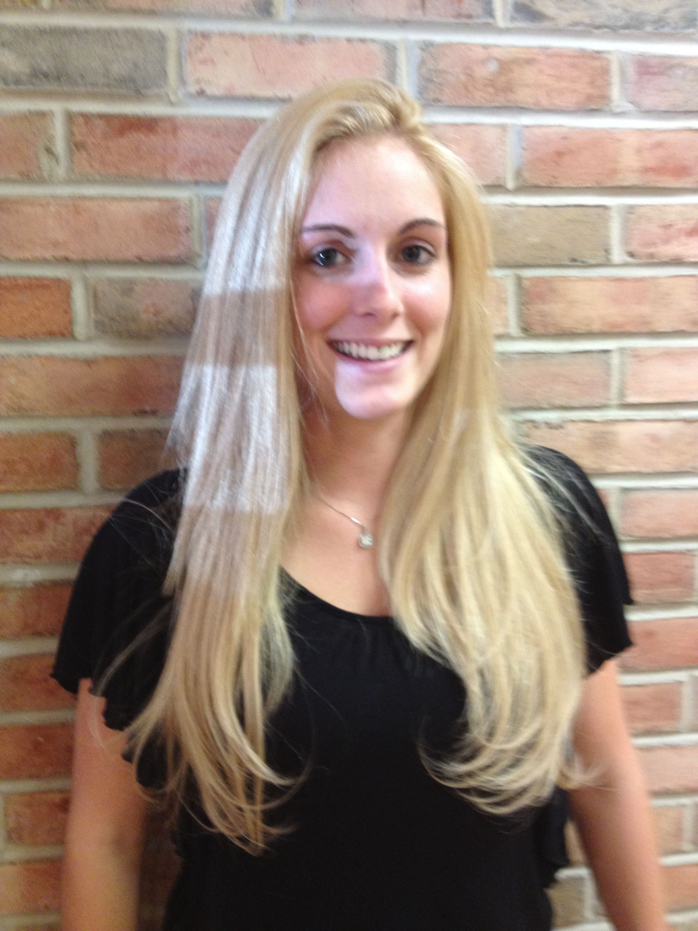 The Best Blonde Highlights Using Aveda High Lift Blondes Dusk Pictures