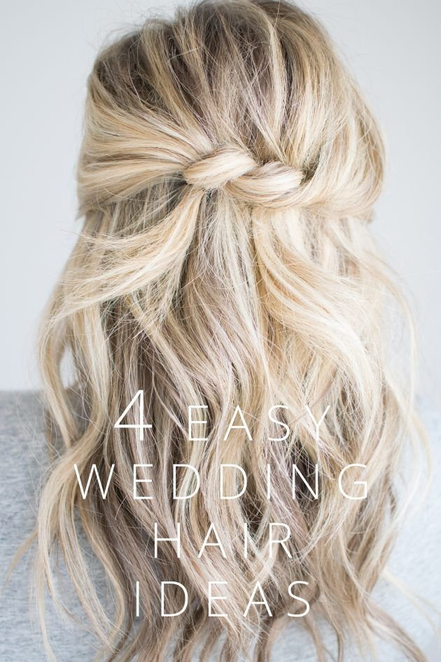The Best 4 Easy Wedding Hair Ideas The Small Things Blog Hair Pictures