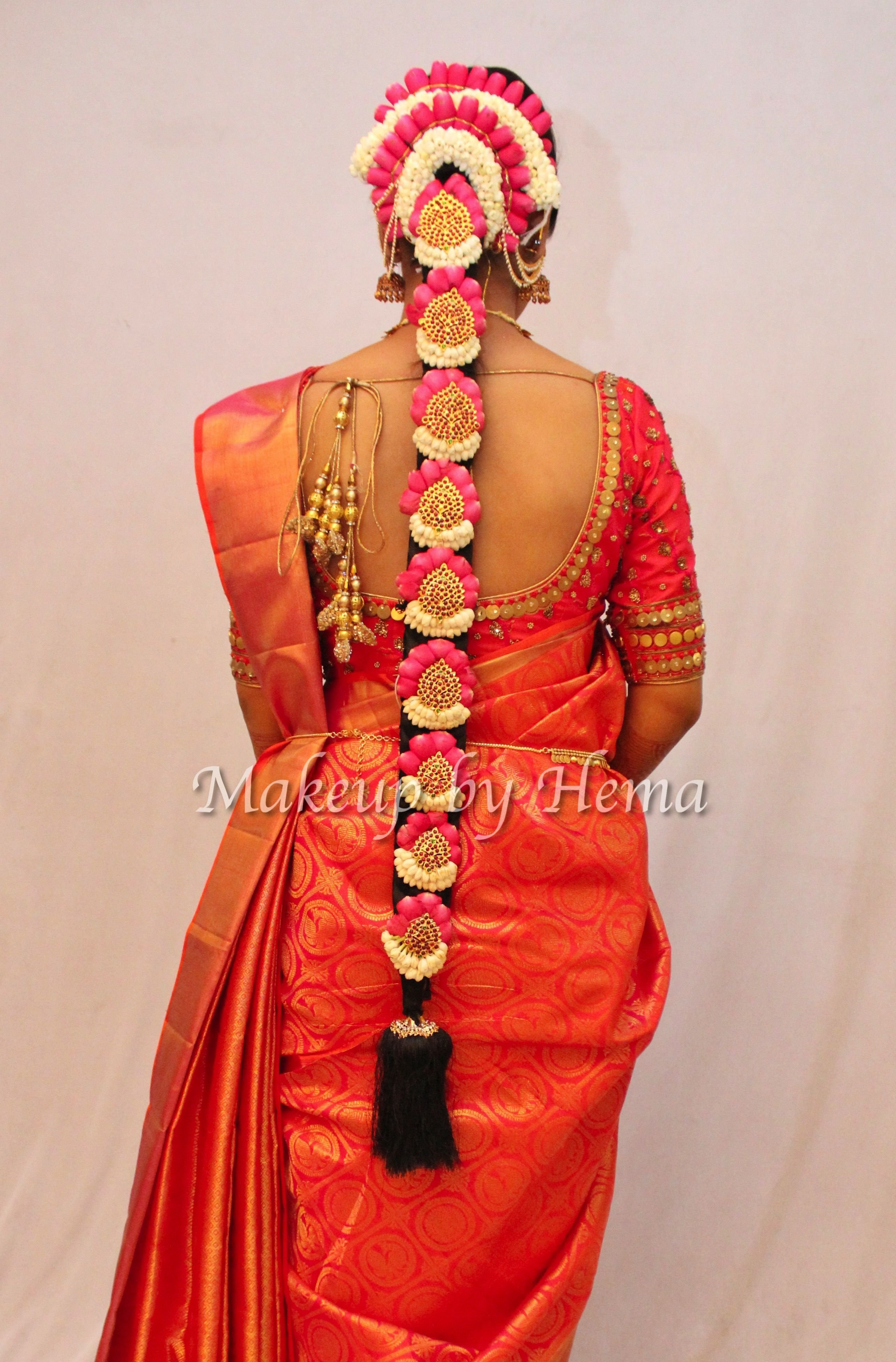 The Best Traditional South Indian Bride S Hairstyle South Indian Pictures