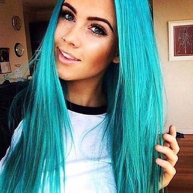 The Best Mermaid Blue Yay Or Nay Inspirehairstyles Lovely Pictures