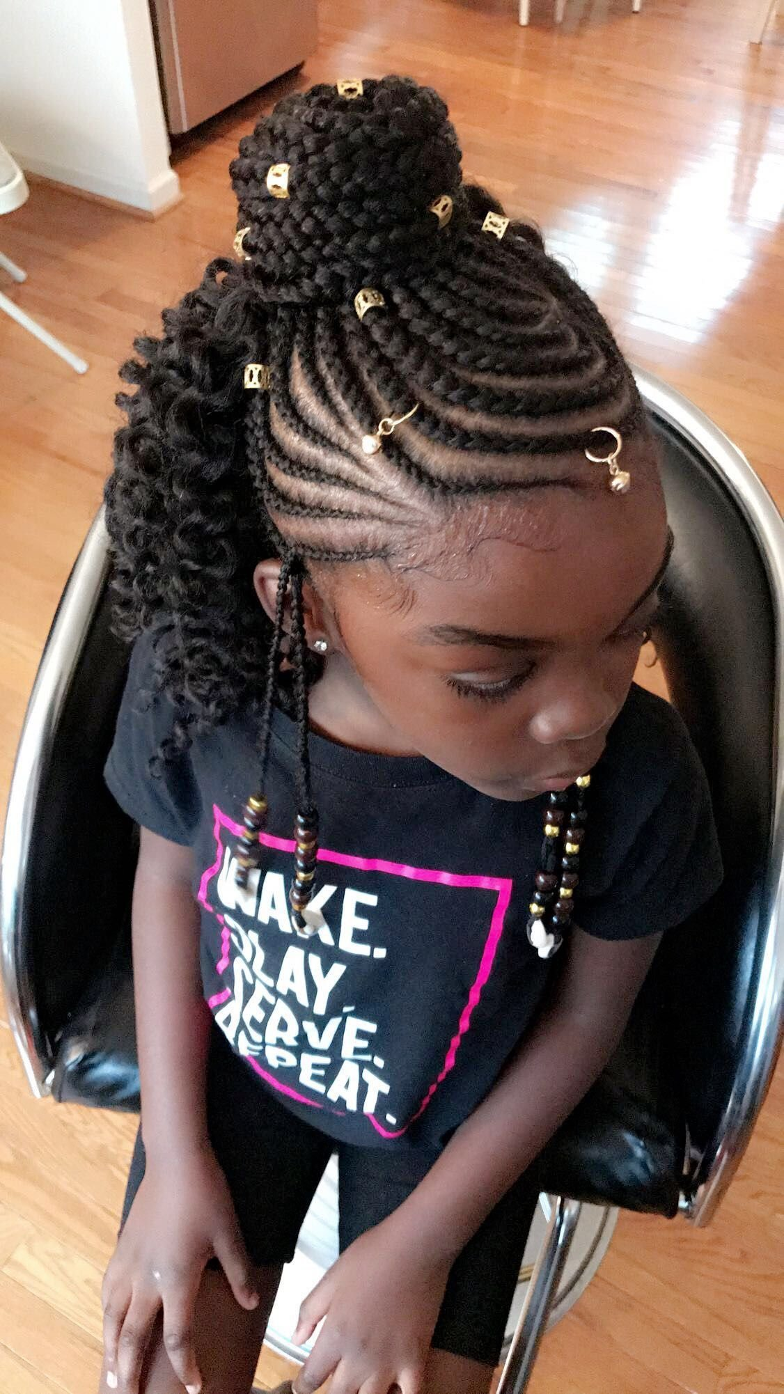 The Best Pin By Kellie Covington On Hair Kids Braided Hairstyles Pictures
