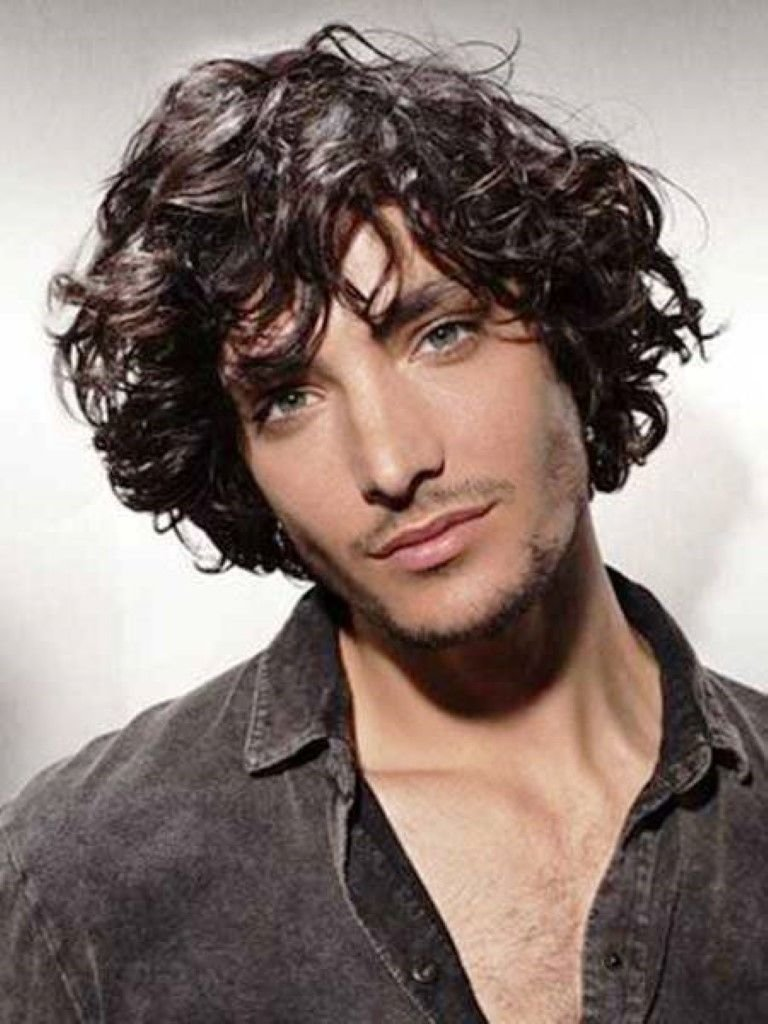 The Best Curly Hairstyles Men Haircuts For Curly Hair 2014 The Cool Shaggy Medium Length Hairstyle Pictures