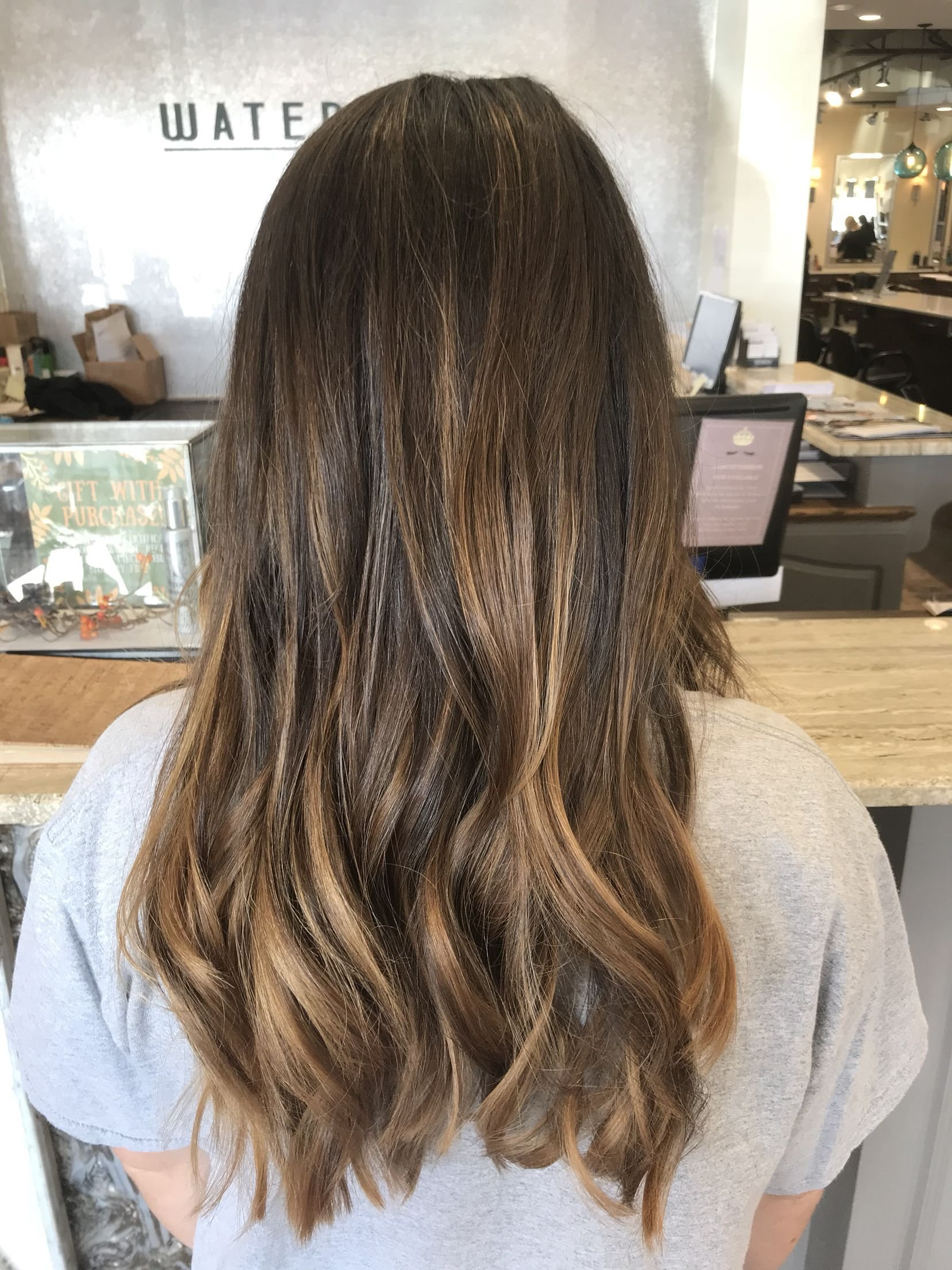 The Best Subtle Balayage On Brunette Hair Sun Kissed Caramel Pictures