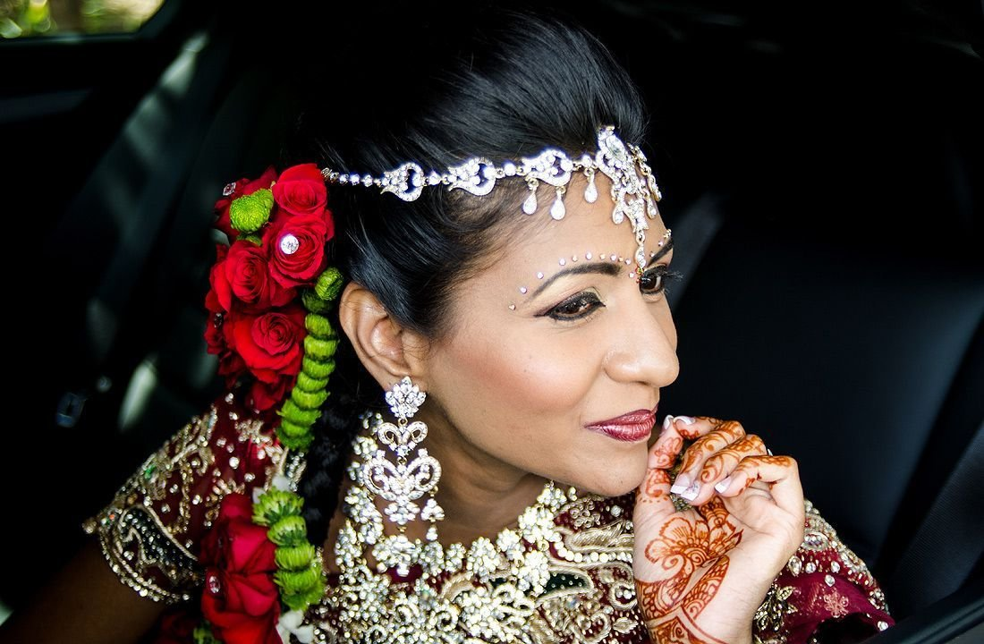 The Best Tamil Bride With Traditional Tamil Bridal Hair Tamil Pictures