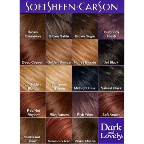 The Best Dark And Lovely Color Chart Kinks Curls Twirls In 2019 Pictures