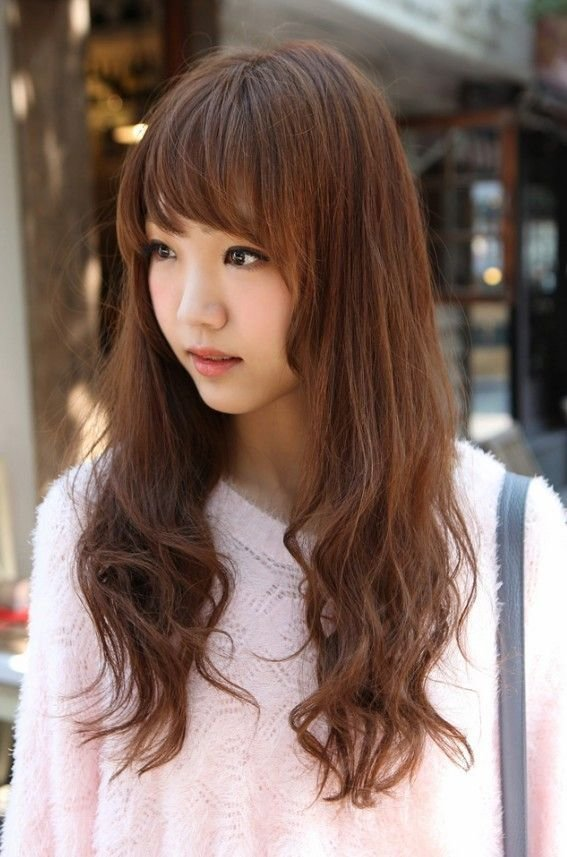 The Best Korean Girls Long Hairstyle Pictures