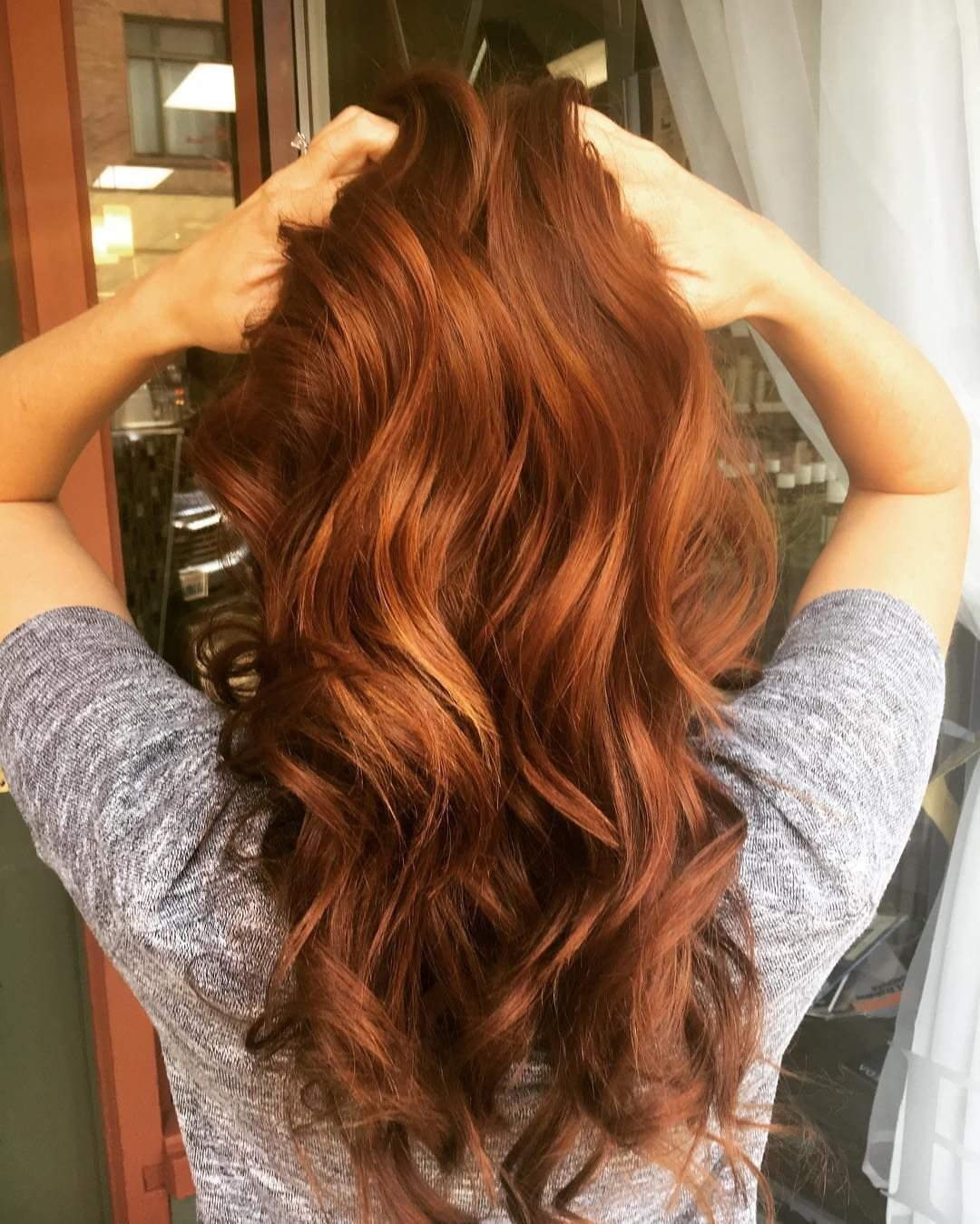 The Best 48 Copper Hair Color For Auburn Ombre Brown Amber Balayage Pictures