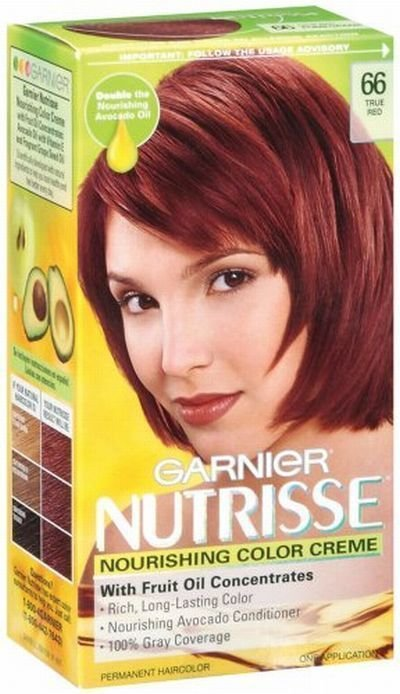 The Best Garnier Nutrisse Hair Nourishing Color Creme 66 True Red Pictures
