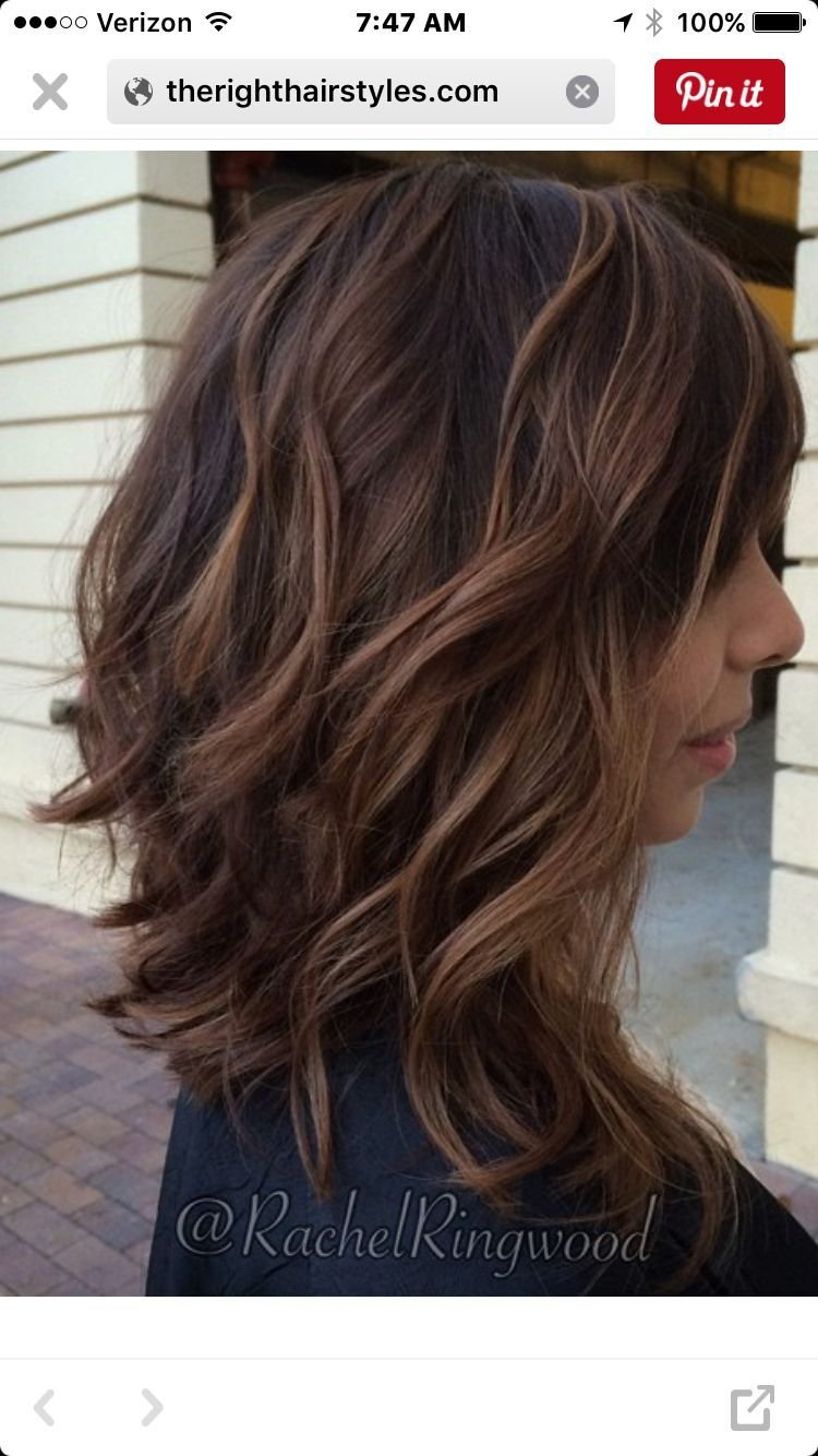 The Best Stacked Long Bob … Hair Styles Hair Pictures