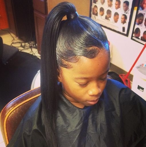 The Best African American Ponytail Hairstyles 9 African American Pictures