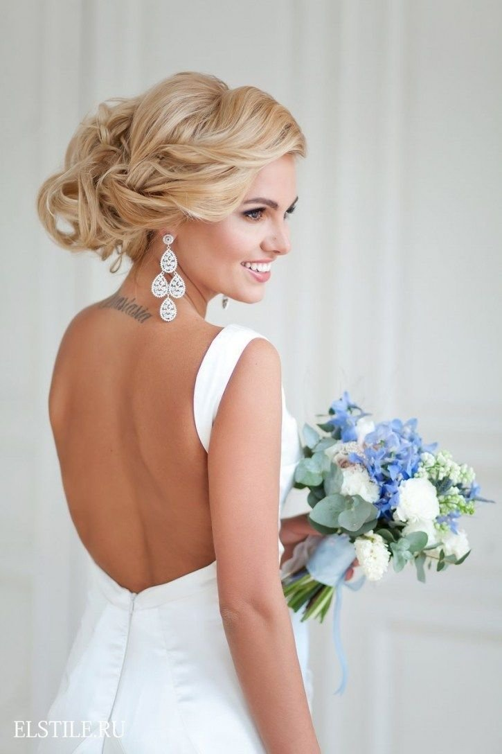 The Best Wedding Hairstyles With Backless Dress Hairstyles Ideas Pictures