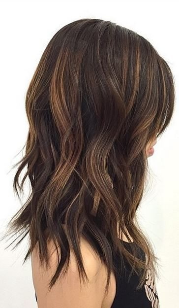 The Best Hair Trends Mid Length And Textured Waves Hairstyles Pelo 2017 Cabello Cabello Cortito Pictures