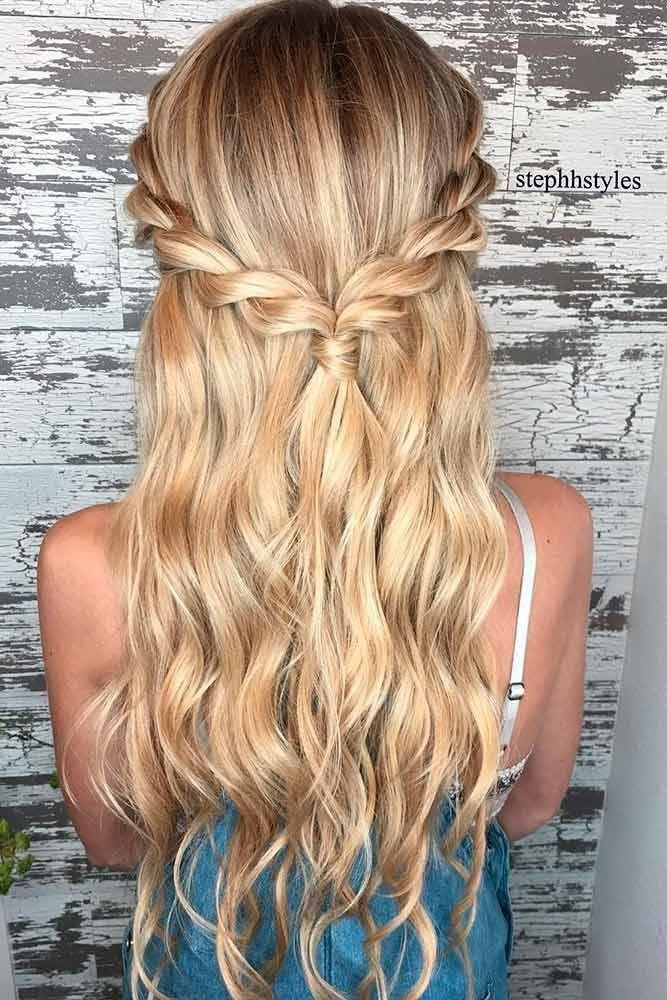 The Best 18 Easy Hairstyles For Long Hair Make New Look Hair Pictures