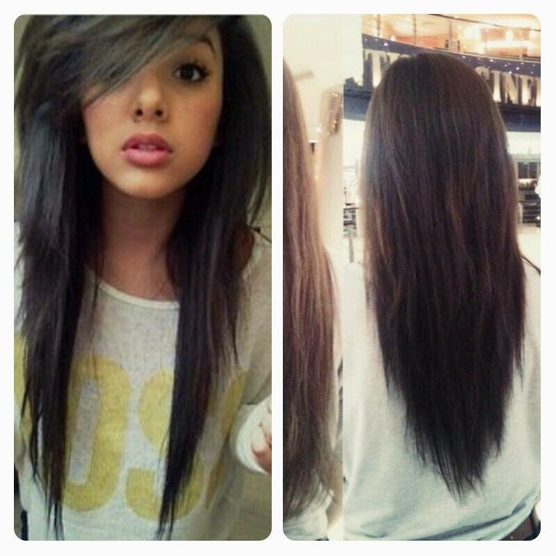 The Best I Got My Hair Did Just Like This I Got It Layered In The Front And Back With The V Shape On The Pictures