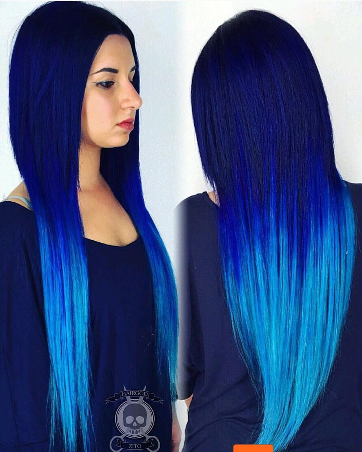 The Best Da Blues By Hairgod Zito This Electric Blue Hair Color Pictures