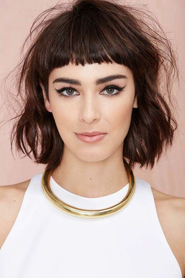 The Best Bangs Hairstyles For Short Hair Hair Hair Cuts Fall Pictures