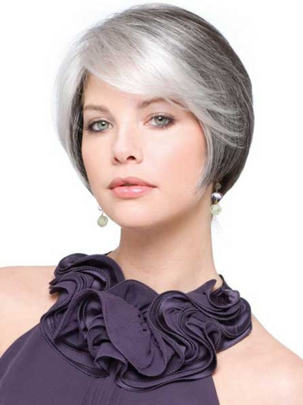 The Best Short Hairstyles For Older Women With Gray Hair Pictures