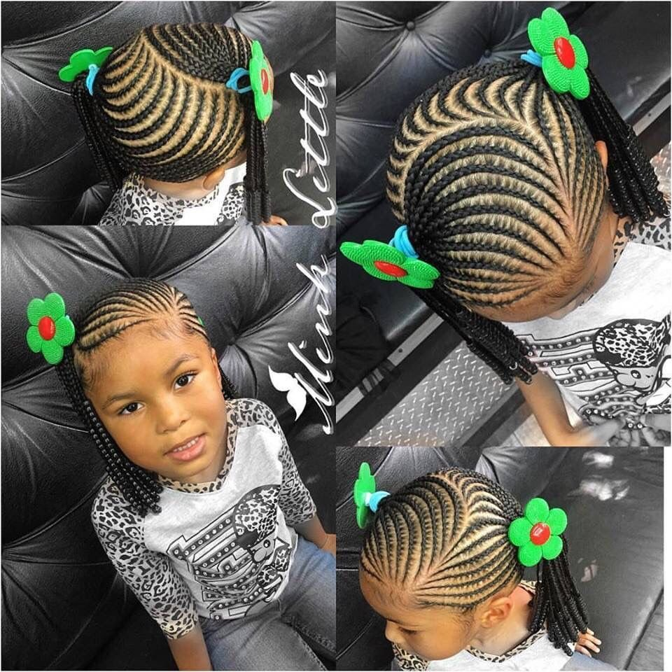 The Best Little Girl Braiding Styles Teamnatural Hair Styles Pictures