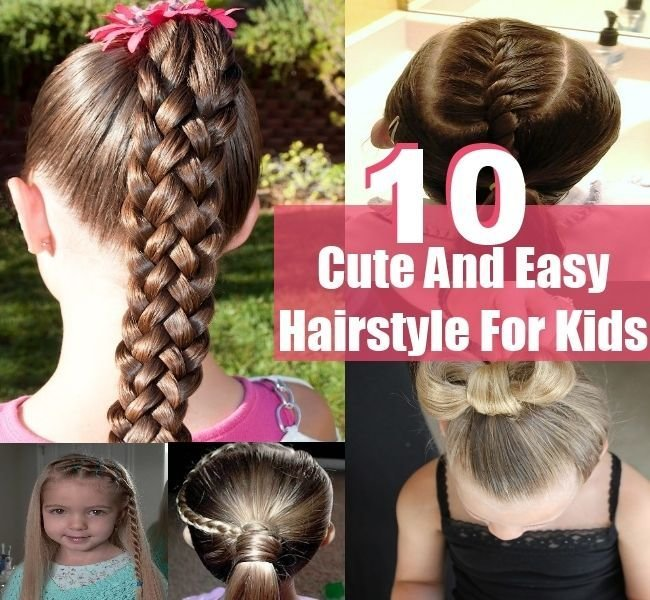The Best Cute Hairstyles Kids Can Do Easy Hairstyles Kids Can Do Pictures