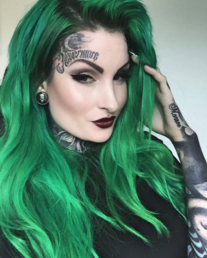 The Best Emerald Green Hair Hair Obsession Hair Green Hair Pictures