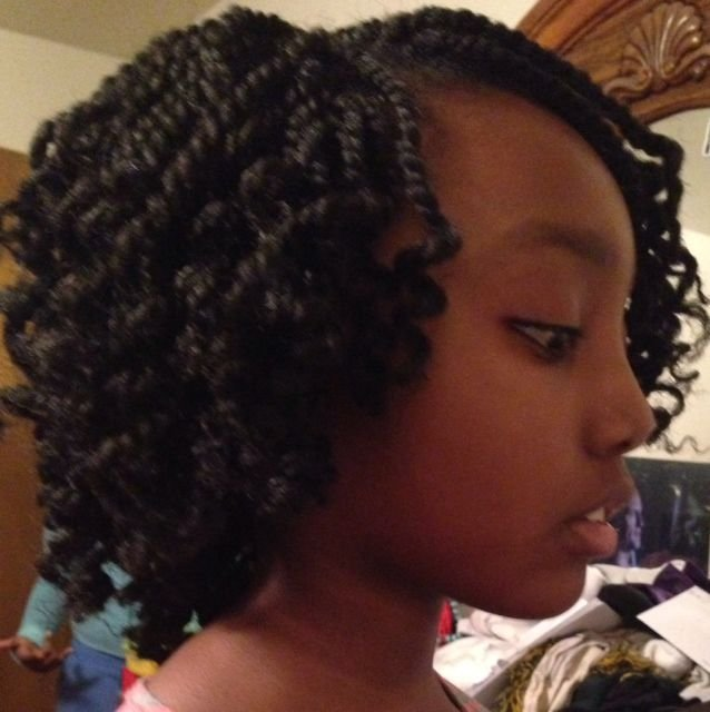 The Best K*Nky Twist Crochet Braids Hairstyles For The Tween Pictures