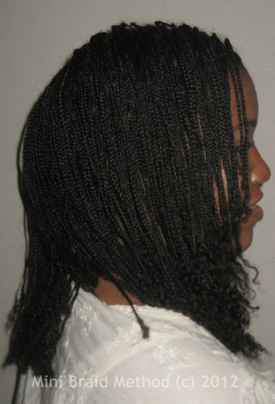 The Best Mini Braids On Natural Hair My Mini Braids A History Pictures