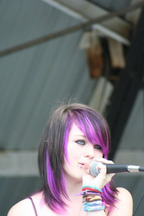The Best Black Hair With Purple Underneath I Don T Know Why I Love Pictures