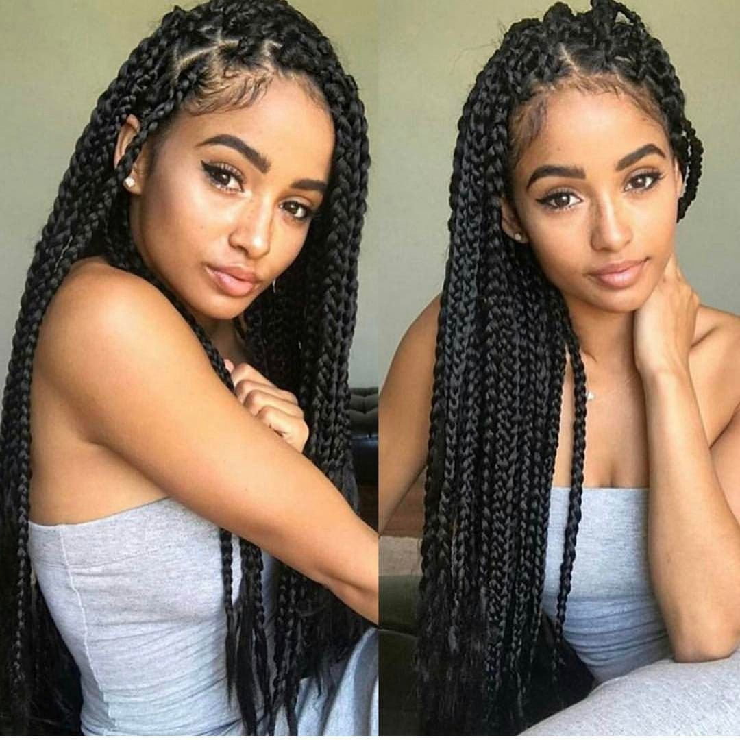 The Best Box Braids Beauty Hair Beauty • Hair Styles Braids Pictures