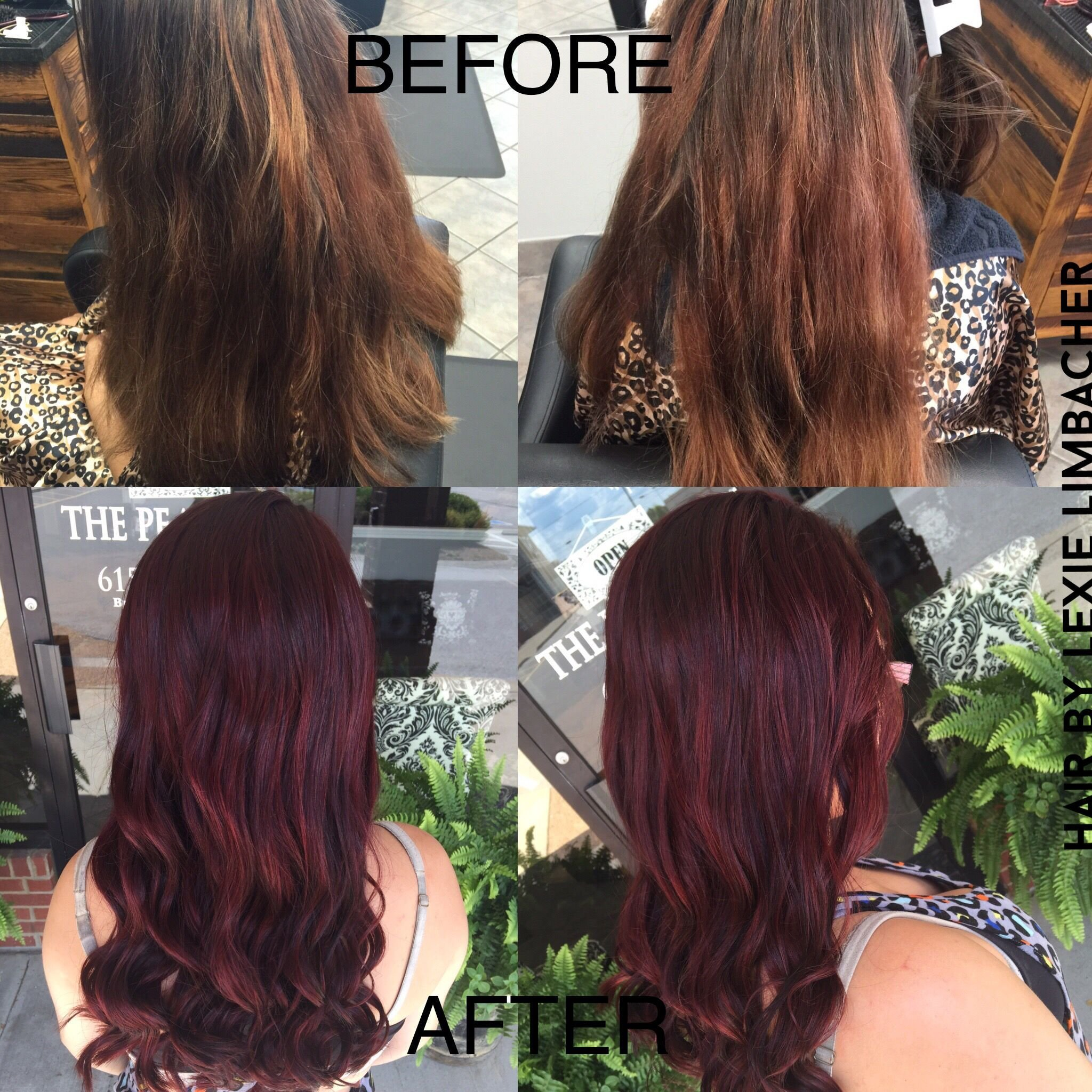 The Best Beautiful Red Violet Color Using Redken 05Rv In Shades Eq Pictures