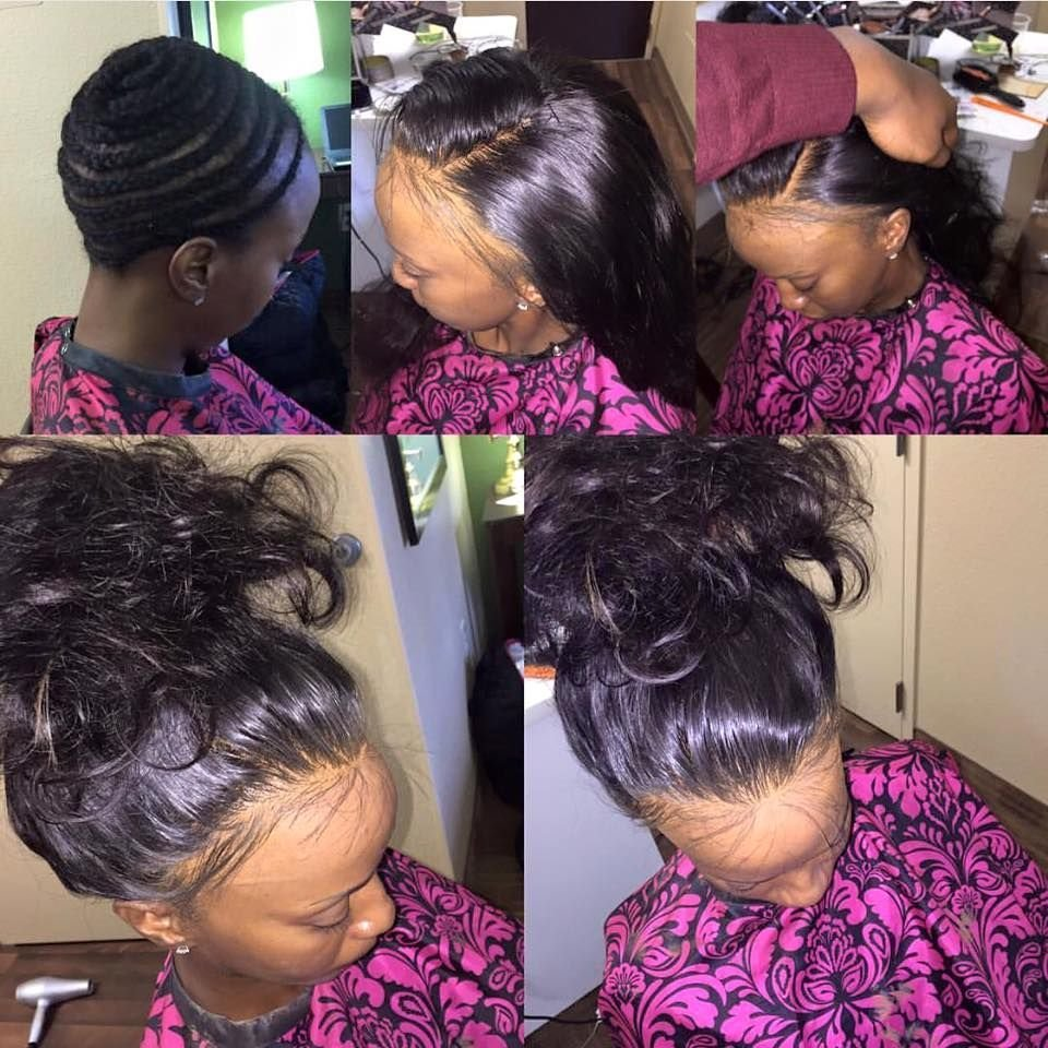 The Best Full Head Sew In No Leave Out Not Even Baby Hair No Pictures