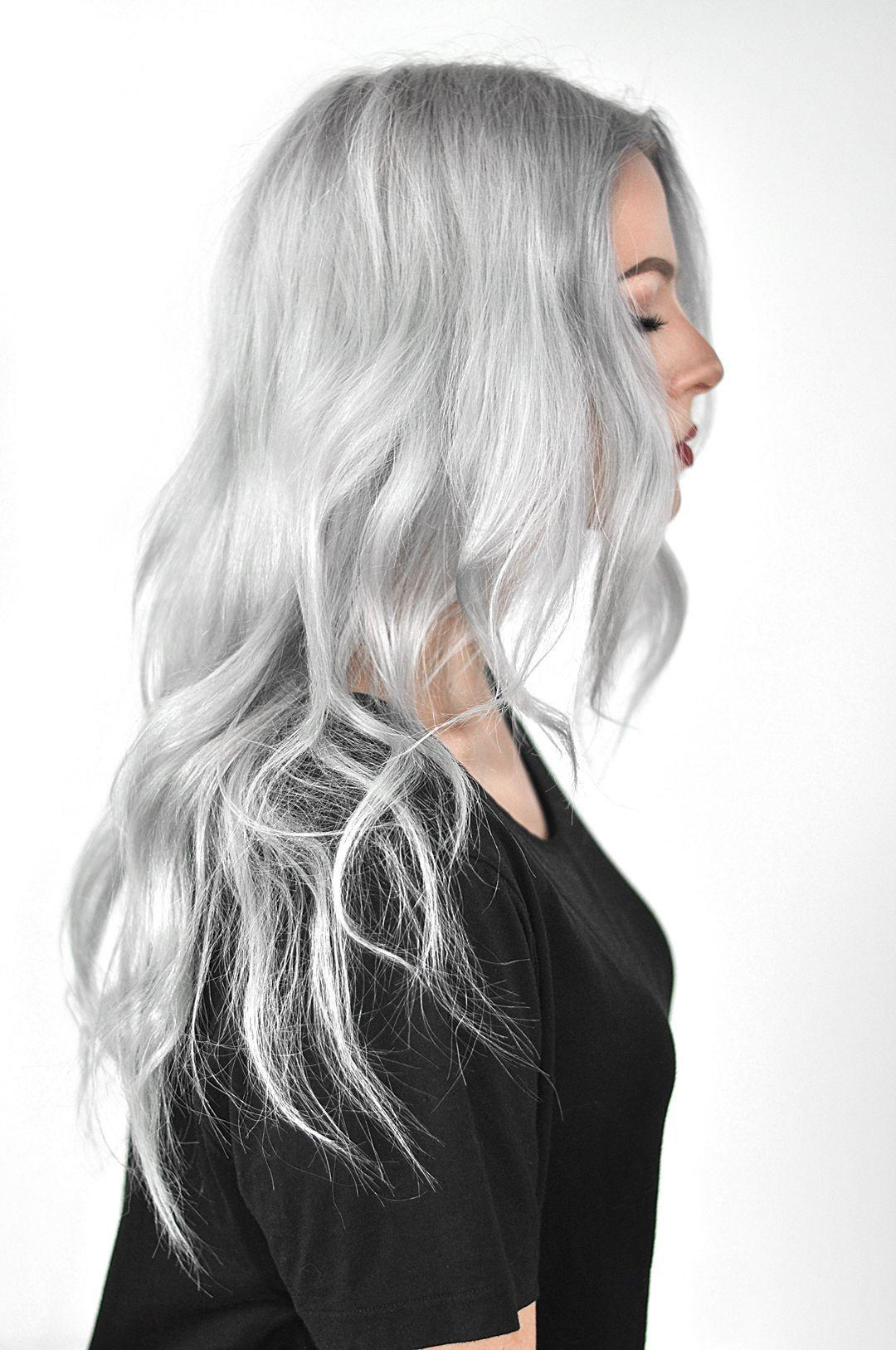 The Best Overtone Pastel Silver Review And Tutorial Hair Silver Pictures