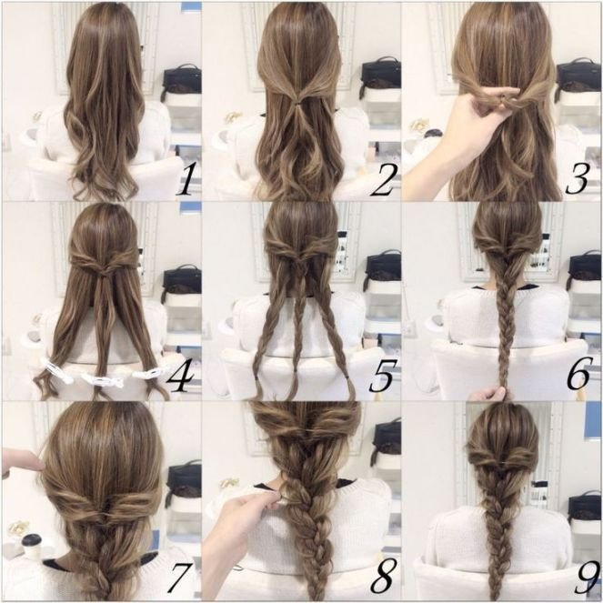 The Best 10 Quick And Easy Hairstyles Step By Step Diy Ideas Pictures