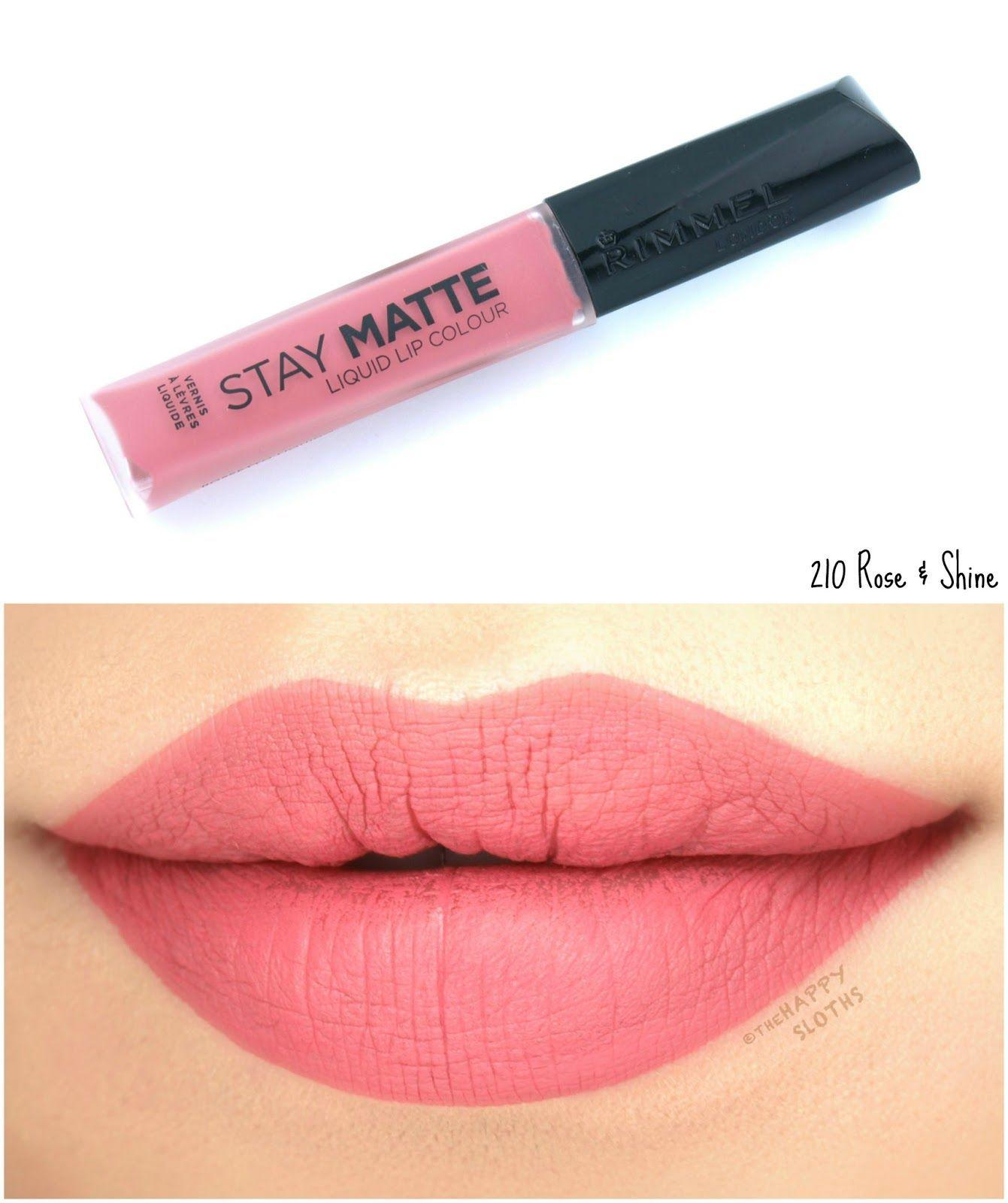 The Best Rimmel London Stay Matte Liquid Lip Colour Review And Pictures