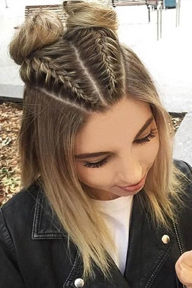 The Best 30 Cute Braided Hairstyles For Short Hair Trenza Pictures