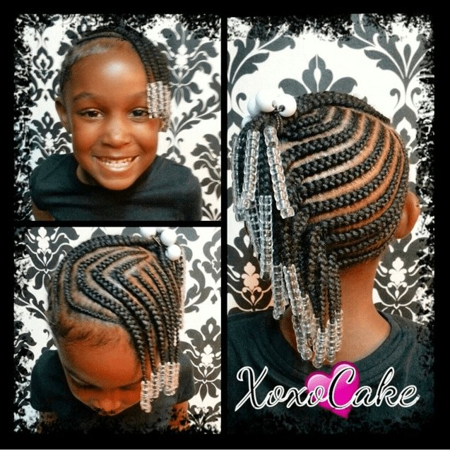 The Best Little Black Girl Braid Hairstyles Google Search Baby Pictures