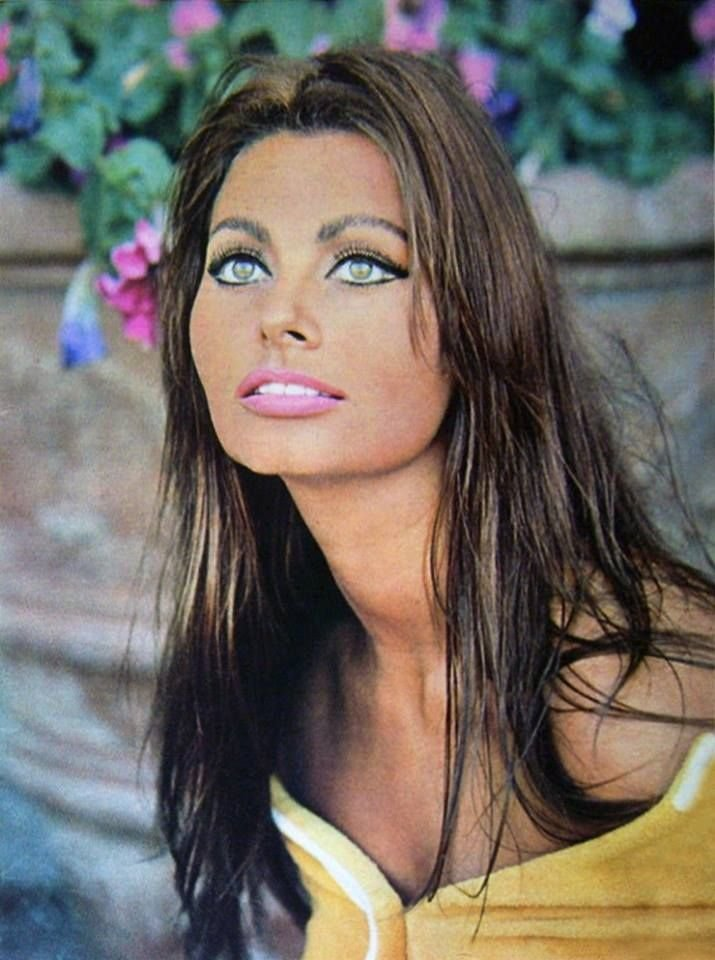 The Best Great Color Photo Of Sophia Loren What Beautiful Eyes Pictures