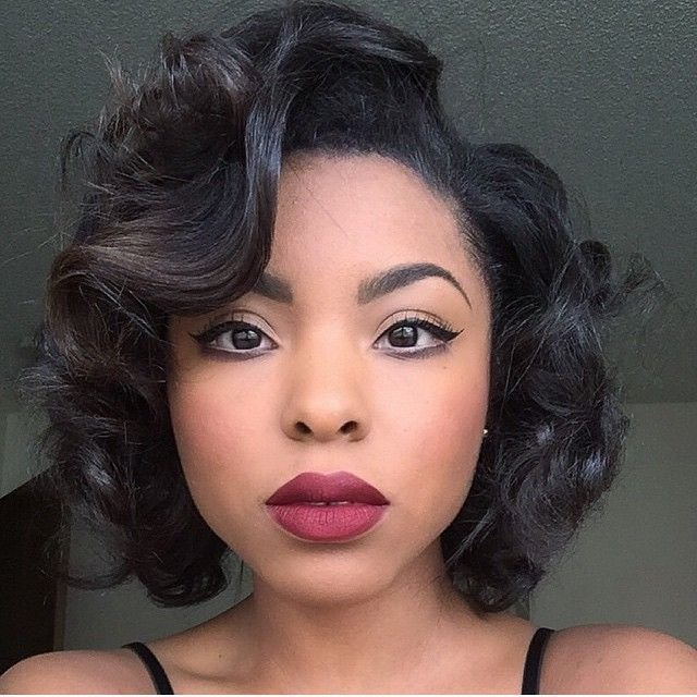 The Best Hairspiration Gorgeous Soft Curls And A Bold Lip On Pictures